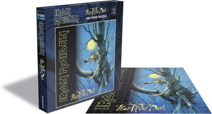 Iron Maiden - Fear Of The Dark (500 Piece Jigsaw Puzzle)