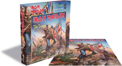 Iron Maiden - The Trooper (1000 Piece Jigsaw Puzzle)