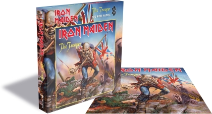Iron Maiden - The Trooper (500 Piece Jigsaw Puzzle)