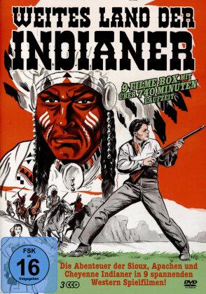 Weites Land der Indianer - 9 Filme (3 DVDs)