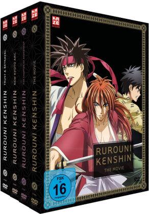 Rurouni Kenshin - OVA's & Movie (Gesamtausgabe, Bundle, 5 DVDs)