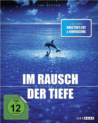 Im Rausch der Tiefe - Le Grand Bleu (1988) (Kinofassung, Arthaus, Director's Cut, 2 Blu-rays)