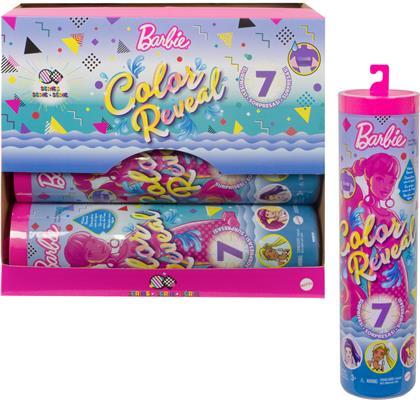 Barbie CR Mono-Neon Mix ass. - Color Reveal, 5-fach ass.,