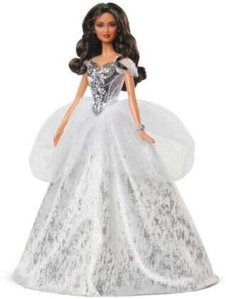 Barbie - Barbie Holiday Doll Wavy Brunette Hair (Limited Edition)