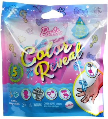 Barbie Color Reveal Pets Glitzer Serie Sortiment