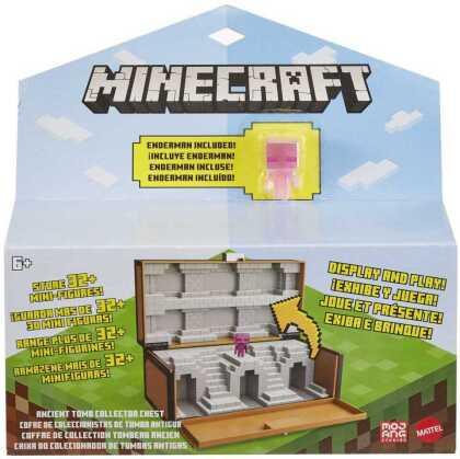 Minecraft Sammelkoffer mit exklusiver Minifigur