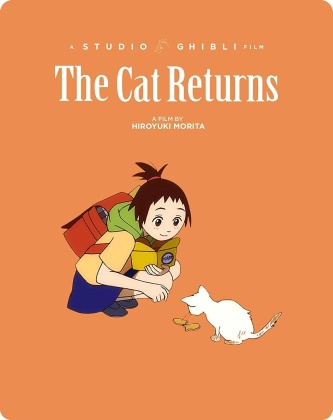 The Cat Returns (2002) (Limited Edition, Steelbook, 2 Blu-rays)
