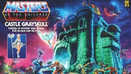 Masters of the Universe Origins - Castle Gray Skull