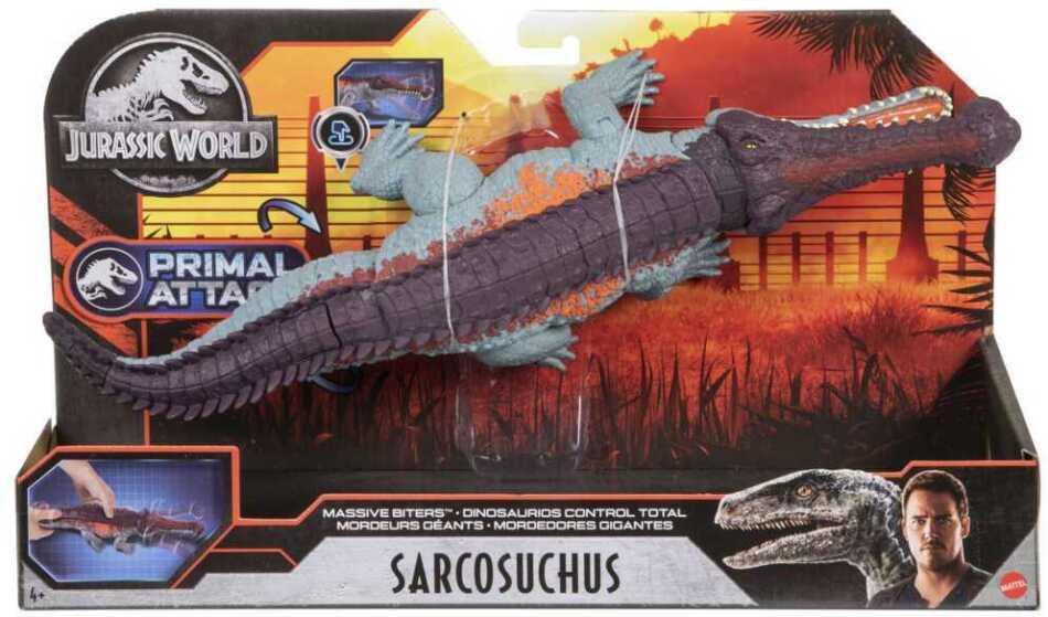 Jurassic World Gewaltiger Beißer Sarcosuchus