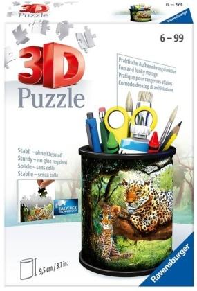 Utensilo: Raubkatzen - 54 Teile 3D-Puzzle
