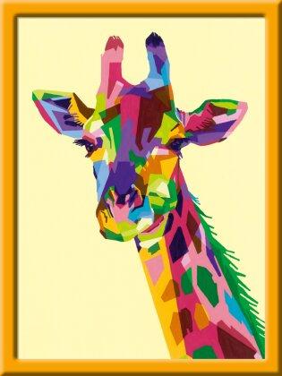 Bunte Giraffe