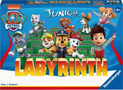 Paw Patrol Junior Labyrinth, 20799 - das bekannte Brettspiel von Ravensburger als Junior Version für Kinder ab 4 Jahren