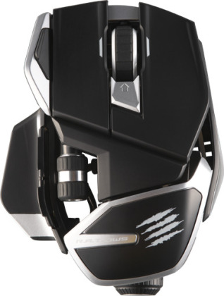 MadCatz R.A.T. DWS dual wireless, optical Gaming Mouse - Black