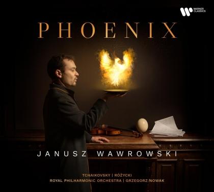 Peter Iljitsch Tschaikowsky (1840-1893), Ludomir Rozycki (1883-1953), Grzegorz Nowak, Janusz Wawrowski & Royal Philharmonic Orchestra - Phoenix
