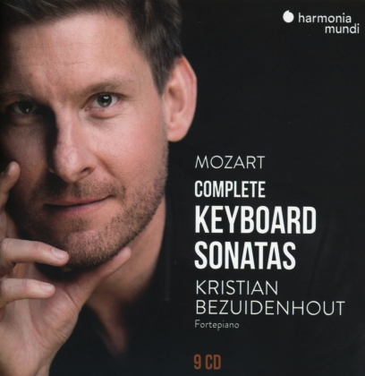 Wolfgang Amadeus Mozart (1756-1791) & Kristian Bezuidenhout - Complete Keyboard Sonatas (9 CDs)
