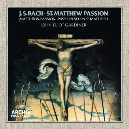 Johann Sebastian Bach (1685-1750), Sir John Eliot Gardiner, English Baroque Soloists & Monteverdi Choir - St. Matthew Passion - Matthäus Passion (2 CDs)