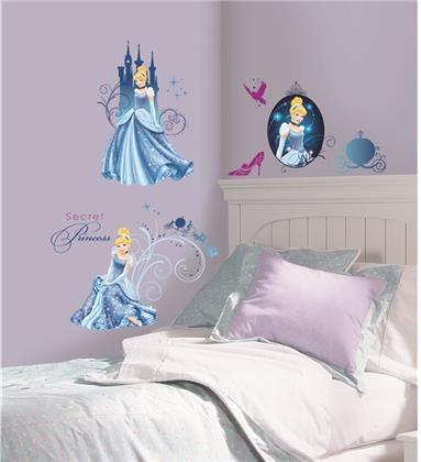 Disney Cinderella - Glamour Wandtattoos