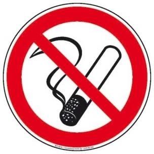 No Smoking Rauchen verboten - Sticker