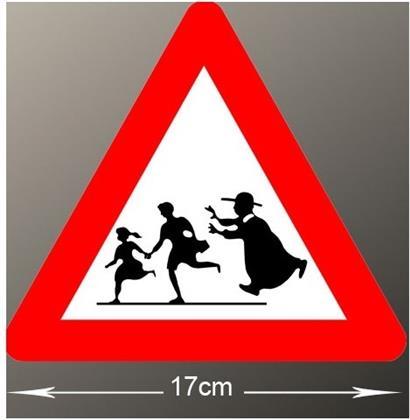 Vorsicht Kinder! - Vinyl Sticker