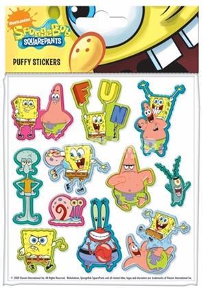 Spongebob Squarepants - Puffy Stickers