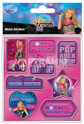 Hannah Montana - Metal Stickers