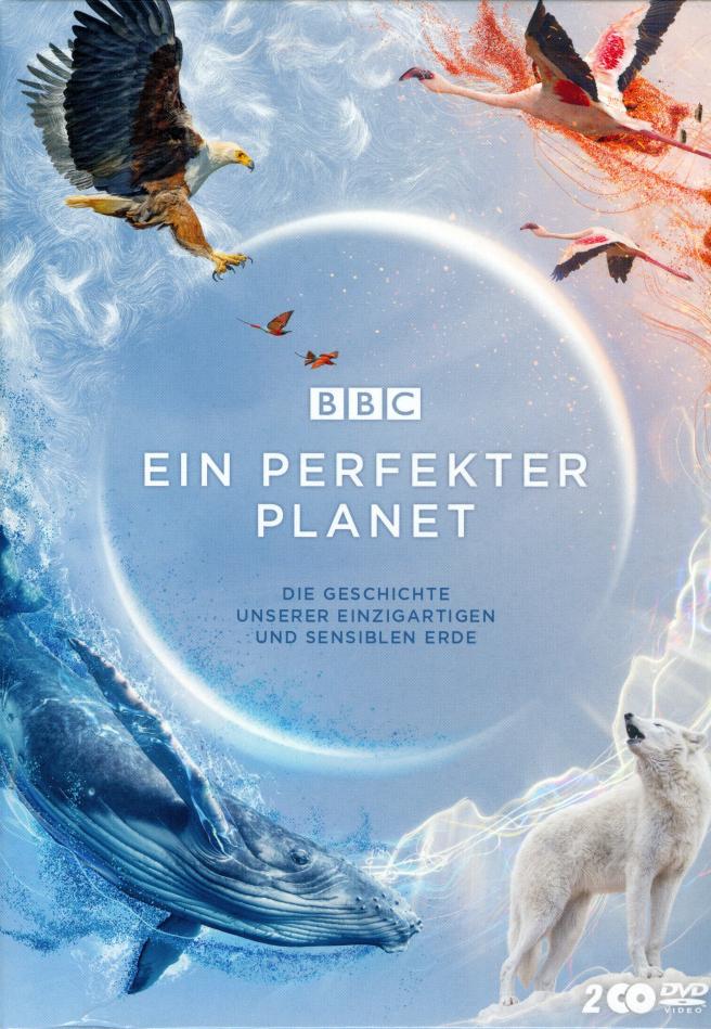 Ein perfekter Planet - Die Geschichte unserer einzigartigen und sensiblen Erde (BBC Earth, Schuber, Uncut, 2 DVDs)