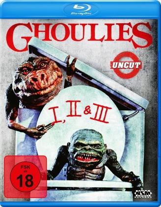 Ghoulies 1-3 (Uncut, 3 Blu-rays)