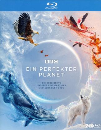 Ein perfekter Planet - Die Geschichte unserer einzigartigen und sensiblen Erde (BBC Earth, Schuber, Uncut, 2 Blu-rays)