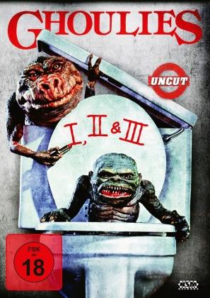 Ghoulies 1-3 (Uncut, 3 DVDs)