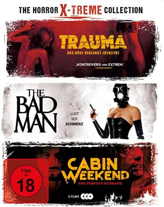 The Horror X-treme Collection - Trauma / The Bad Man / Cabin Weekend (3 Blu-rays)