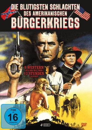 Die blutigsten Schlachten des Amerikanischen Bürgerkriegs (4 DVDs)