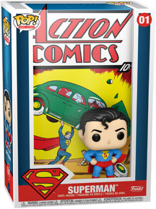 Funko Pop! Vinyl Comic Cover: - Dc- Superman Action Comic