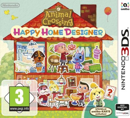 Animal Crossing Happy Home Designer + Karte
