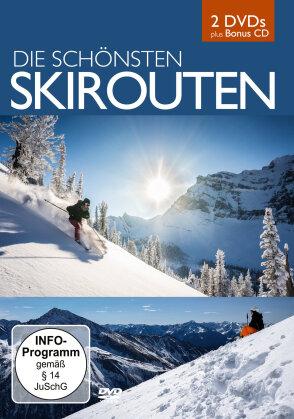 Die schönsten Skirouten (2 DVDs + CD)