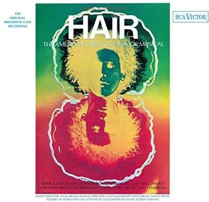 Hair - OCR (2021 Reissue, Music On Vinyl, Limited, Orange/Yellow/Green Vinyl, LP)