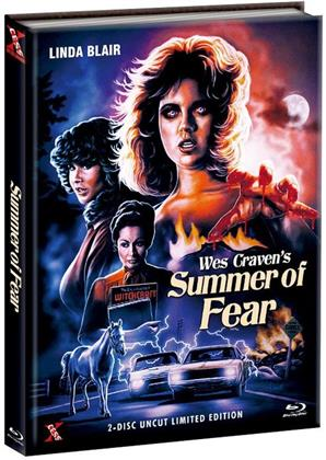 Summer of fear (1978) (Cover B, Limited Edition, Mediabook, Uncut, Blu-ray + DVD)