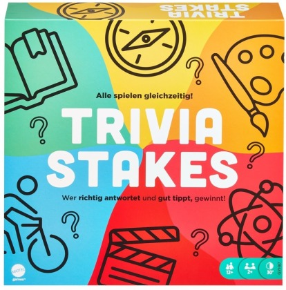 Trivia Stakes - Brettspiel