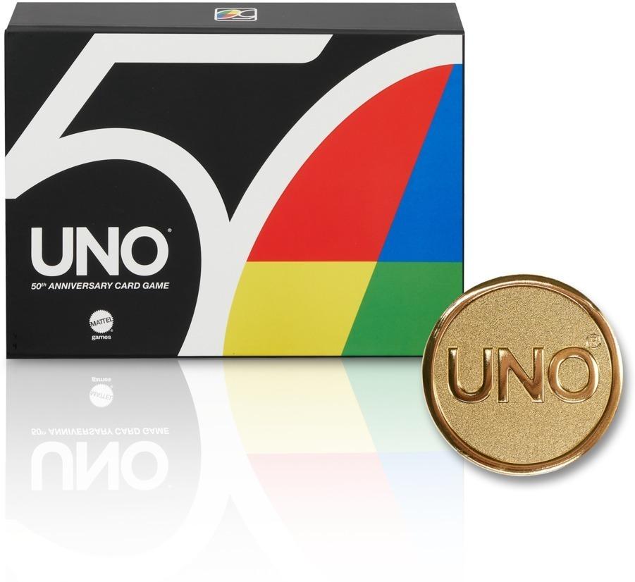 UNO 50th Premium Jubiläumsedition (Kartenspiel)