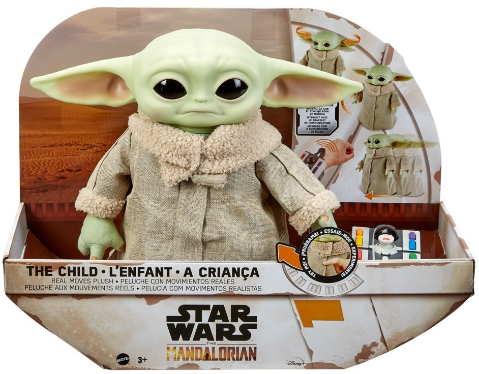 Disney Star Wars Mandalorian The Child Baby Yoda Funktionsplüsch