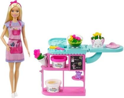 Barbie - Barbie Dough Florist Playset Blonde
