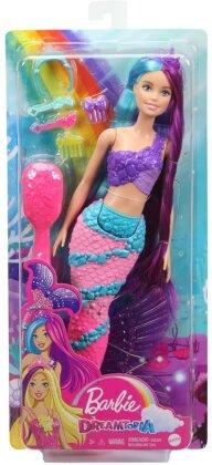 Barbie Dreamtopia Regenbogenzauber Meerjungfrau Puppe mit langem Haar