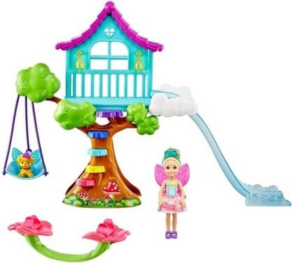 Barbie - Dreamtopia Chelsea Fairy Doll And Fairytale
