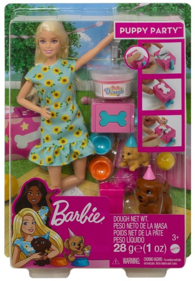 Barbie Hündchenparty Puppe und Spielset