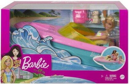 Barbie Boot mit Puppe