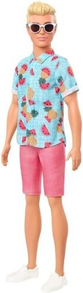 Barbie - Ken Fashionista With Sculpted Blonde Hair Wearing