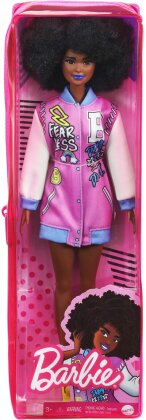 Barbie - Curly Brunette Hair With Letterman Jacket