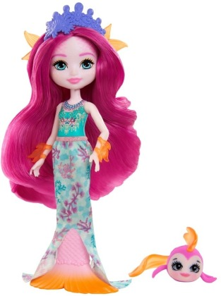 Enchantimals Royals Maura Mermaid Puppe & Glide