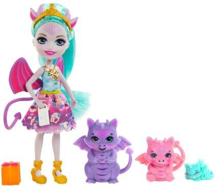 Enchantimals Royals Deanna Dragon Familie
