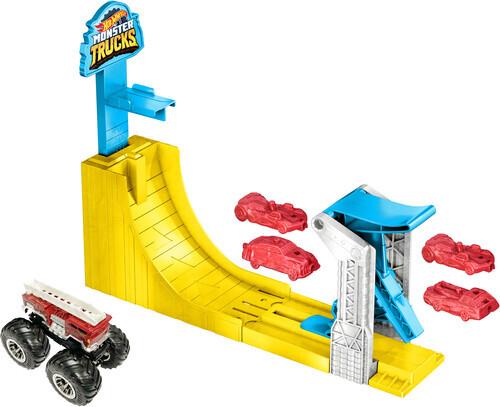 Hot Wheels - Hot Wheels Monster Trucks Big Air Breakout Playset