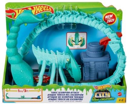 Hot Wheels City Giftige Skorpion-Attacke Spielset